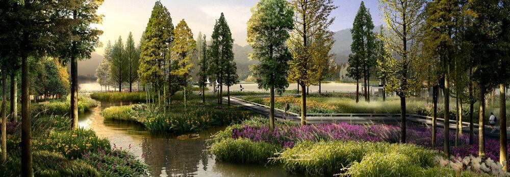 高安别墅景观方案设计-易人景观设计(江西)有限公司