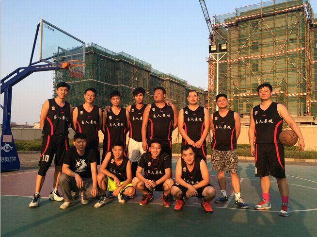 我司冠名男子篮球队组建成功